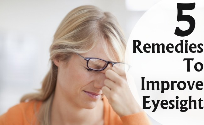 NATURALLY IMPROVE EYESIGHT