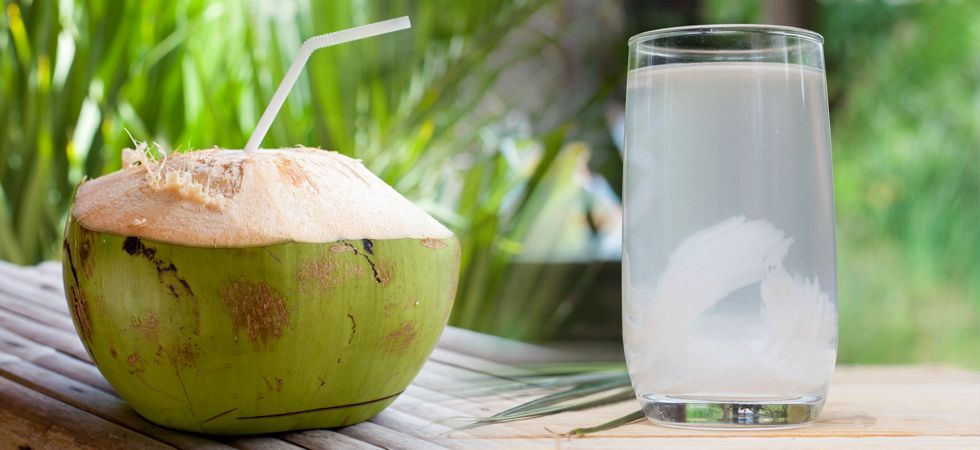 coconut water refreshing